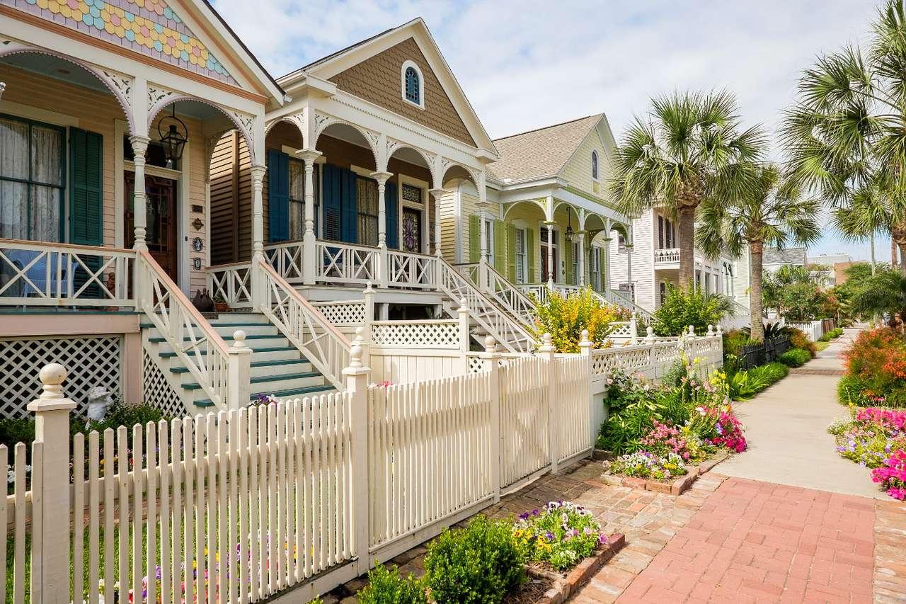 Casas vitorianas em Galveston (EUA)