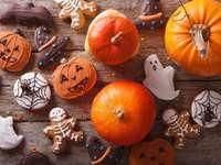 Citrouilles et pain d'épices pour Halloween