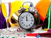 Hodiny měřící čas do Nového roku