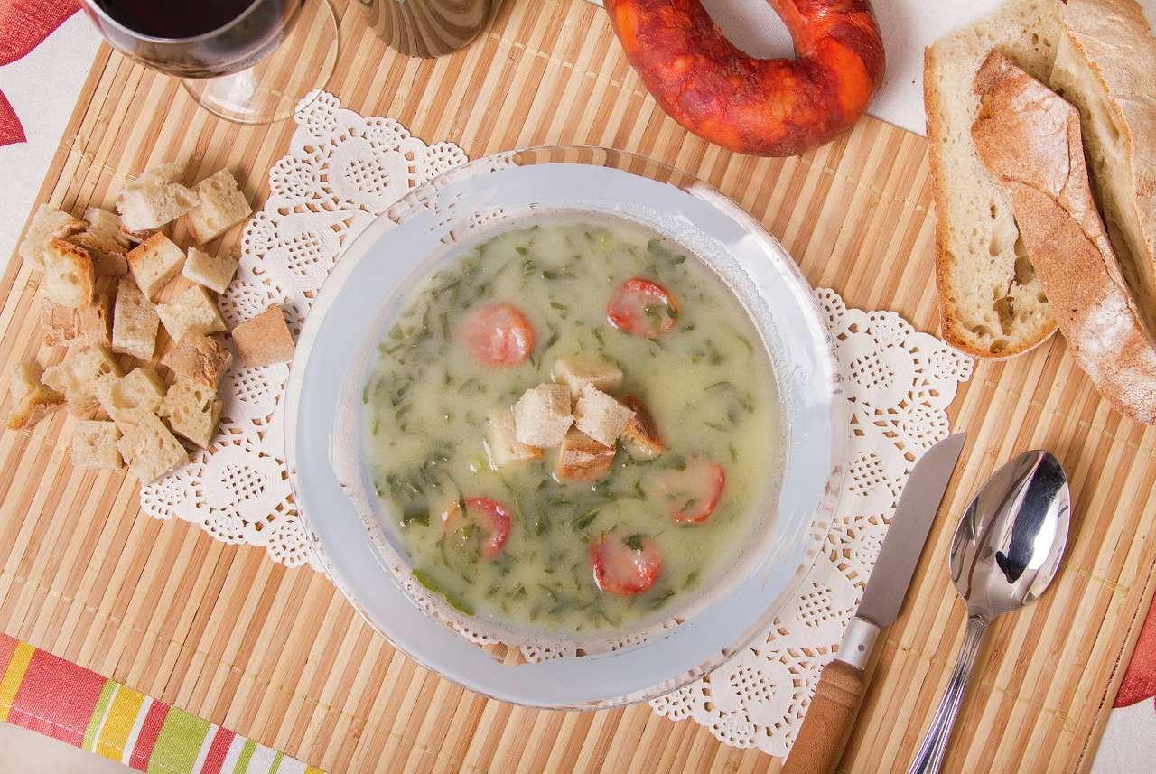 Πορτογαλική σούπα caldo verde παζλ
