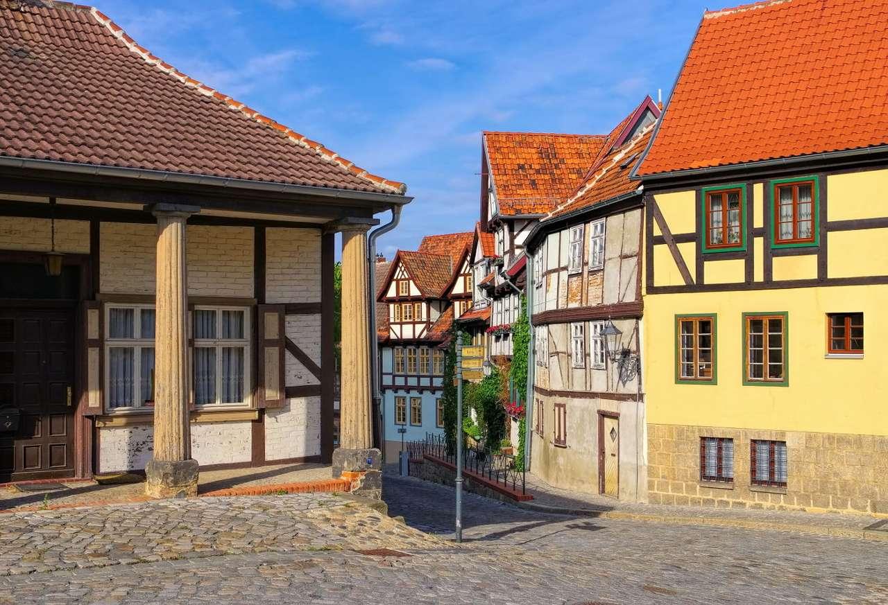 Old Town in Quedlinburg (Germany)