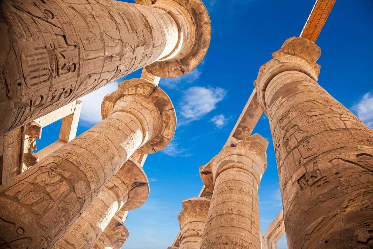 Great Hypostyle in Karnak (Egypt)