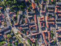 Vedere panoramică a Oleśnica (Polonia)