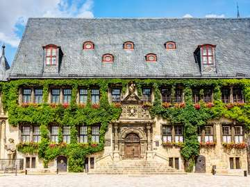 Town Hall in Quedlinburg (Germany)