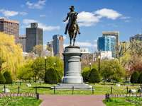 Monumento a George Washington en Boston (EE. UU.)