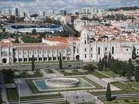 Hieronymites-klooster in Santa Maria de Belém (Portugal)