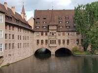 Hospital of the Holy Spirit in Nuremberg (Germany)