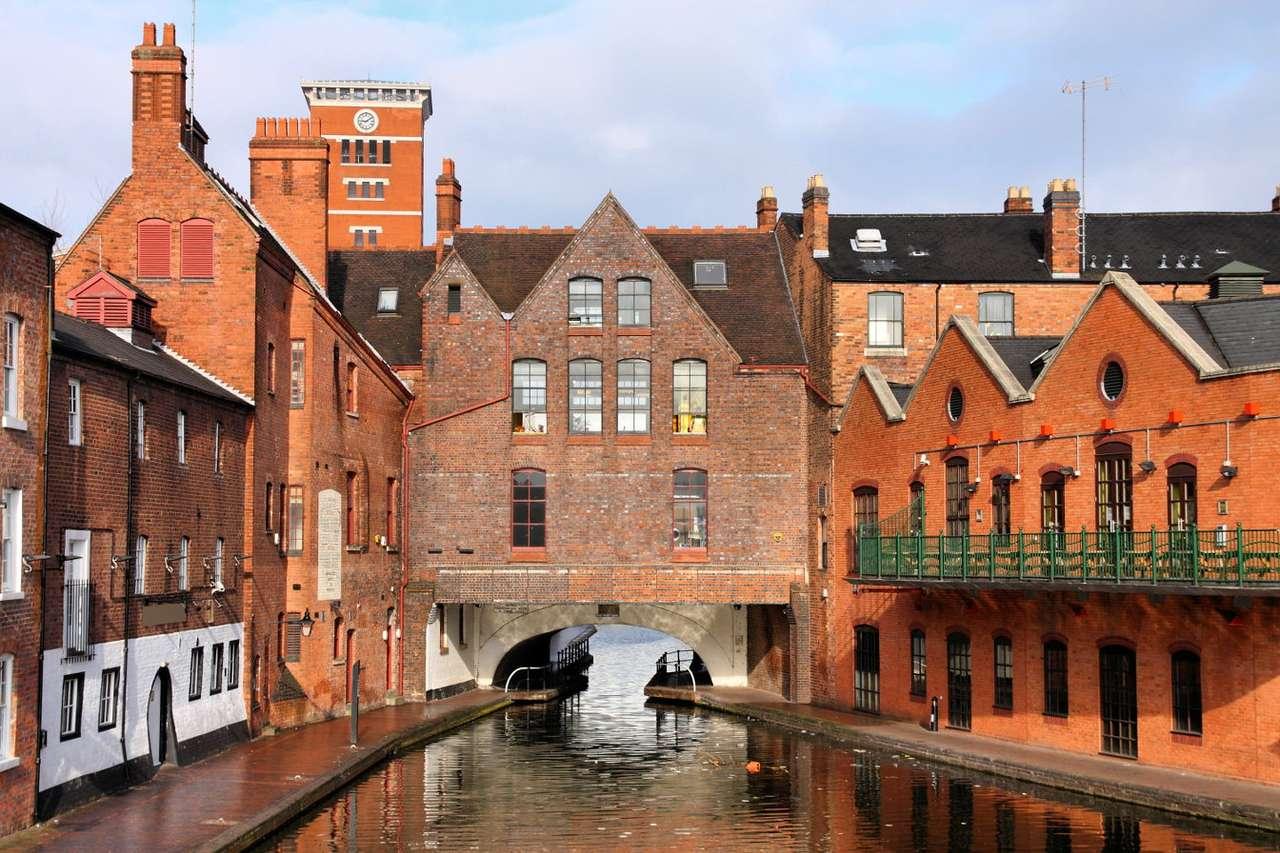 Canal in Birmingham (United Kingdom)