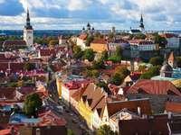 Old Town in Tallinn (Estonia)