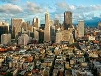 Panorama of San Francisco (USA)