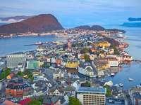 Town of Ålesund (Norway)