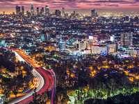 Sunrise in Los Angeles (USA)
