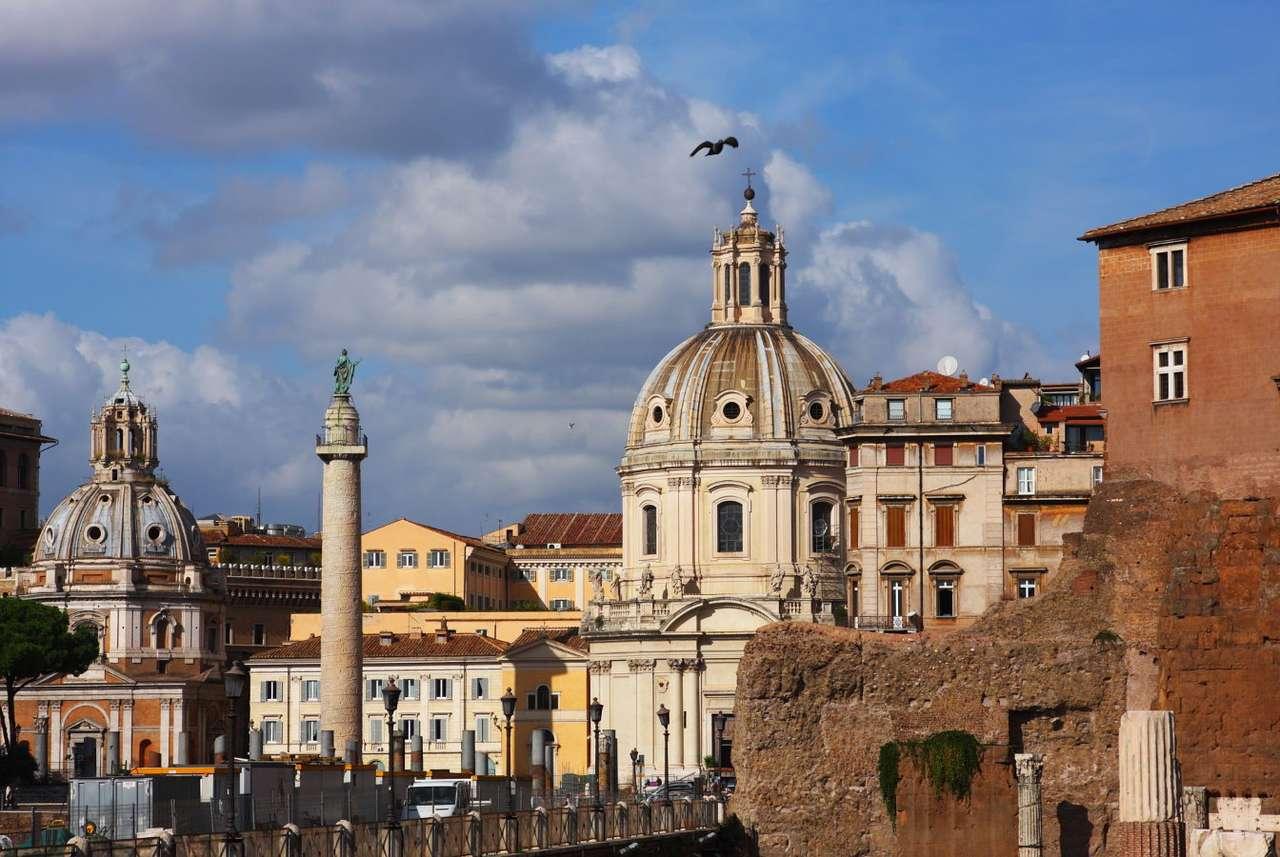 Trajan's Forum (Italien) puzzle from photo