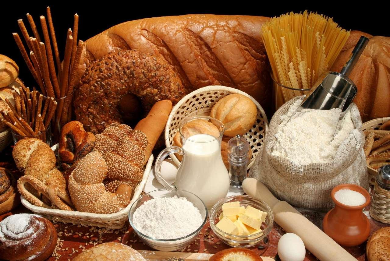 Различни видове хляб пъзел