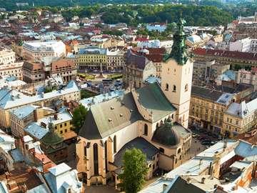 Latin Cathedral in Lviv (Ukraine)