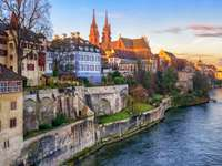 Old Town of Basel (Switzerland)