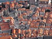 The old town of Dubrovnik (Croatia)
