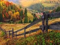Podzim v Transylvánii (Rumunsko)