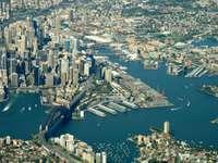 Madártávlatból Sydney (Ausztrália)