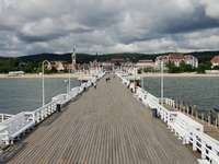 Pier in Sopot (Poland)