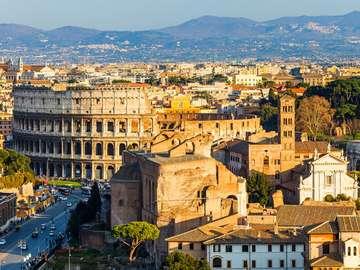 The Roman Colosseum (Italy)