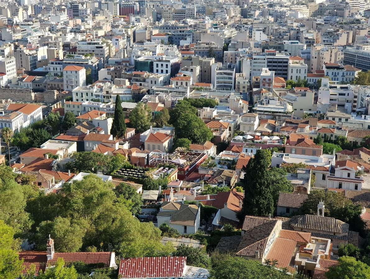 Athenian district of Plaka (Greece)