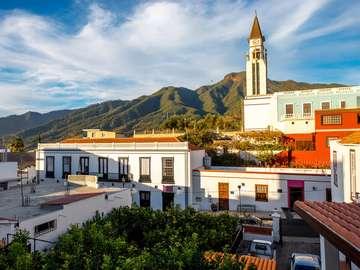 Church in El Paso on the island of La Palma (Spain)