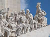 Monument to the Discoveries in Lisbon (Portugal)