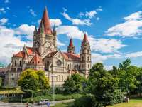 Church of St. Francis of Assisi in Vienna (Austria)