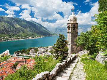 Church of Our Lady of Remedy in Kotor (Montenegro)