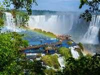 Bridge at Iguazú Falls (Argentina /Brazil)