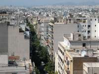 Metaxourgeio district of Athens (Greece)