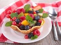 Forest fruit salad