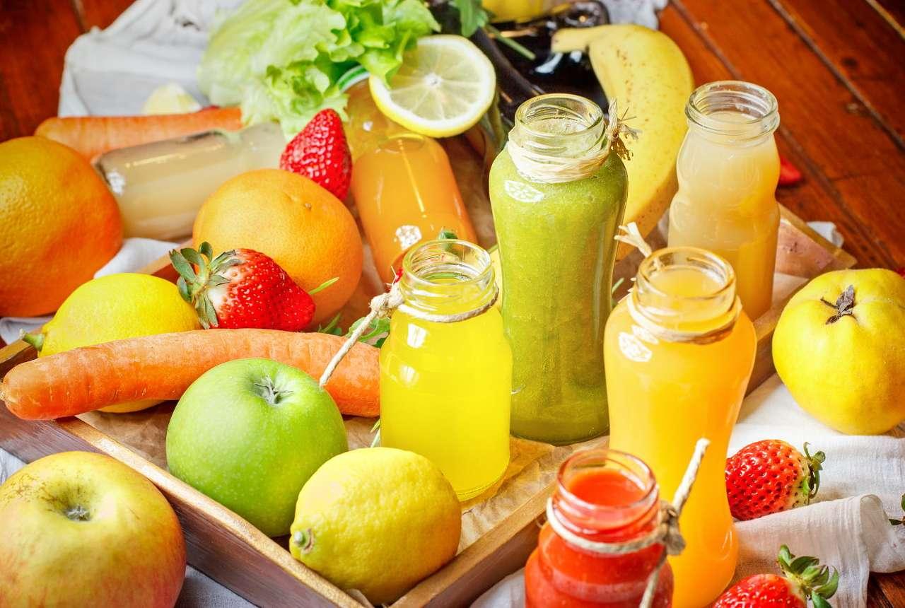 Зеленчукови и плодови сокове