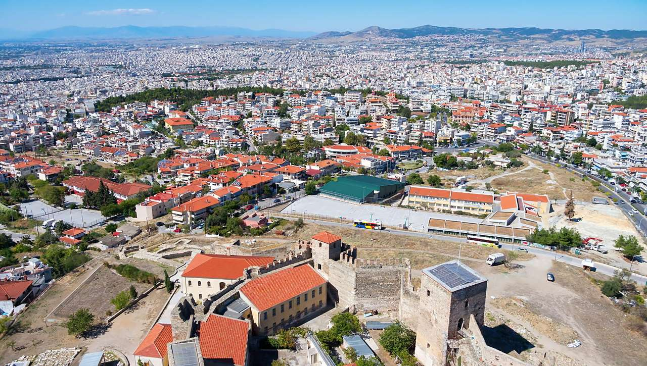 Aerial view of Thessaloniki (Greece)