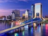 Bridge in Jacksonville, Florida (USA)