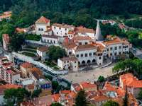 Nationaal Paleis in Sintra (Portugal)