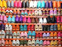 Moroccan babouche shoes
