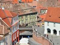 Bridge of Lies in Sibiu (Roemenië)