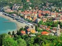 Town of Levanto (Italy)