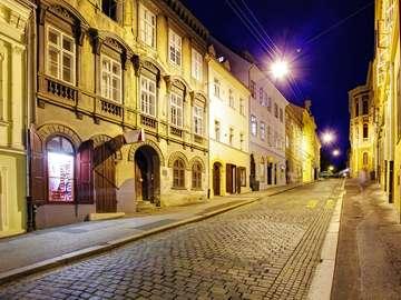 Street in Zagreb (Croatia)