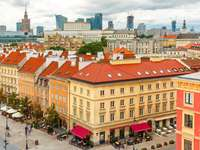 Downtown of Warsaw (Poland)