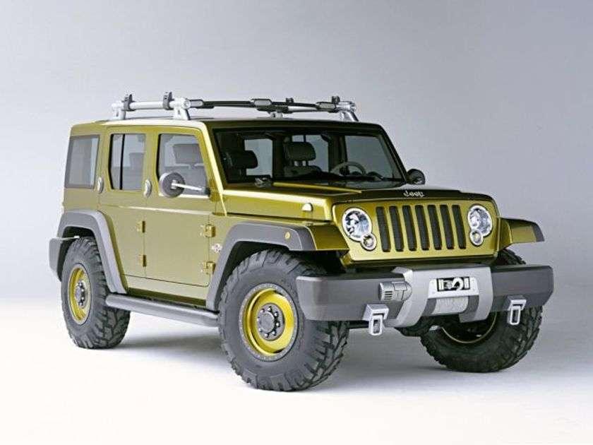 Concepto de rescate Jeep