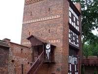 La torre inclinada de Toruń