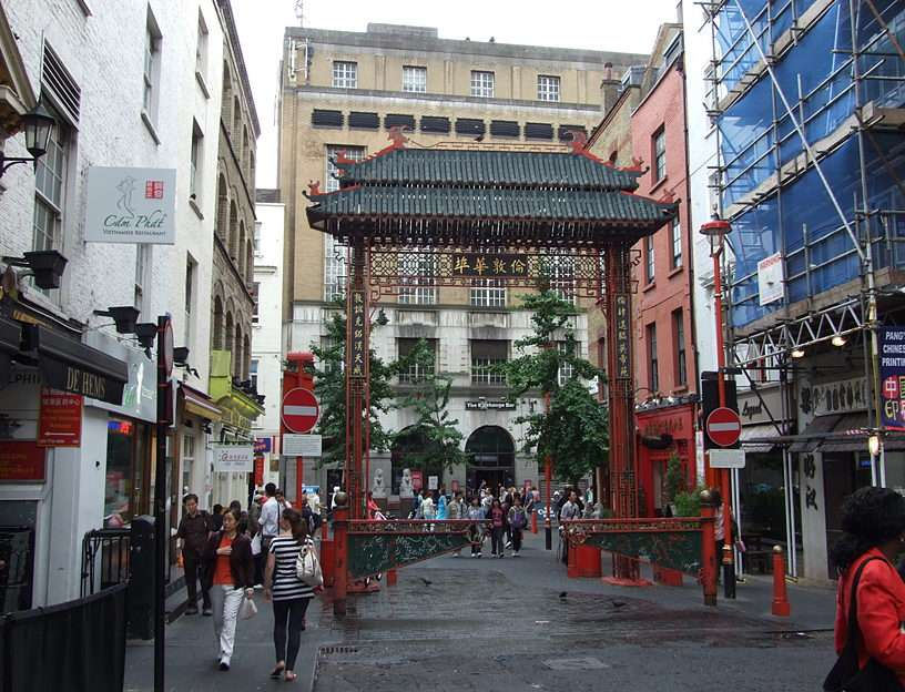 Londen - Chinese straat