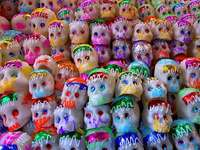 Sugar skulls are a (Day of the Dead) tradition in