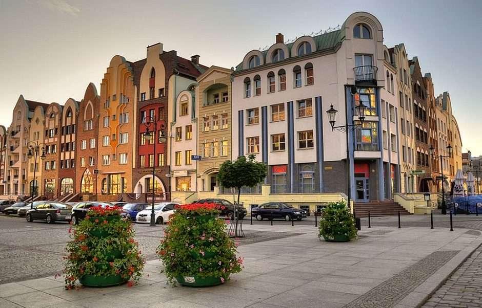 Elbląg - la vieille ville