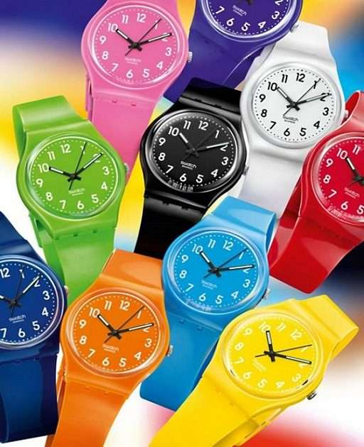 Colorful watches -  (8×6)