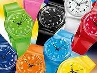 Kleurrijke horloges