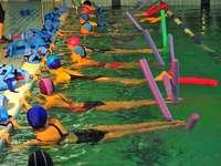 Aqua-aerobik s E-Teamem :)